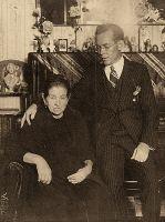 1926_10_Valencia_Vicent_Ballester_Retrat_amb_la_seva_mare