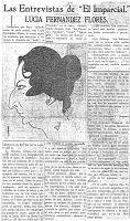 1919_03_11_Puerto_Rico_El_Imparcial_Entrevista_i_caricatura_de_Lucia_Fernandez_Flores