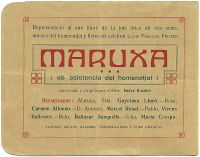 1915_08_16_Teatre_de_natura_Vallvidrera_Maruxa